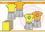 男小童T恤套装