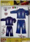 JEANS 2007/2008欧美秋冬童装牛仔服装设计手稿