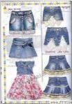JEANS 2008韩国童装牛仔服装系列设计手稿
