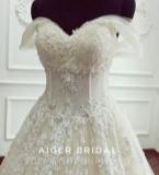 浅香槟色婚纱,尽显优雅与魅力