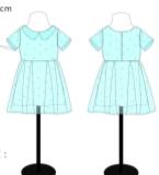 田园风连衣裙