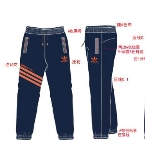 精品男装休闲裤