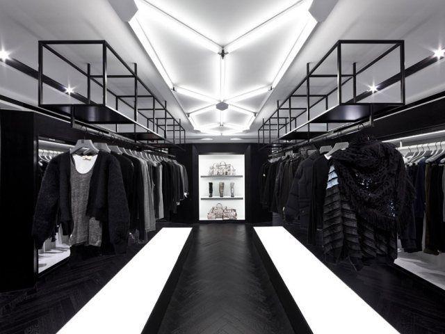 100例国外优秀服装店内部装修设计-服装设计管理