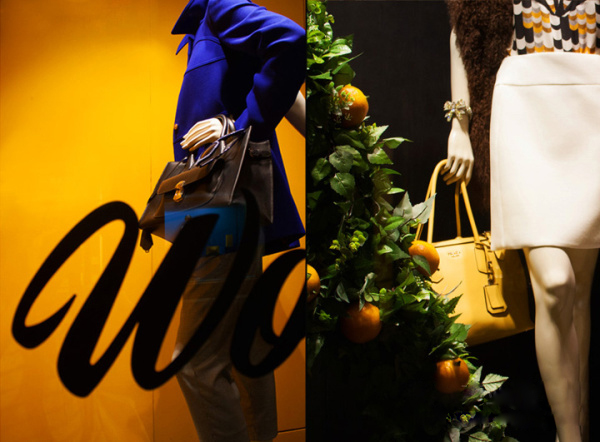 2014秋季Aishti品牌橱窗设计   橱窗里面展示着的是该品牌的商品,服装穿在模特身上更能将该商品的特点展示出来,从而让人们看到全方位立体的效果,优雅的身姿以及富有个性的装饰让整体更加高贵奢华。