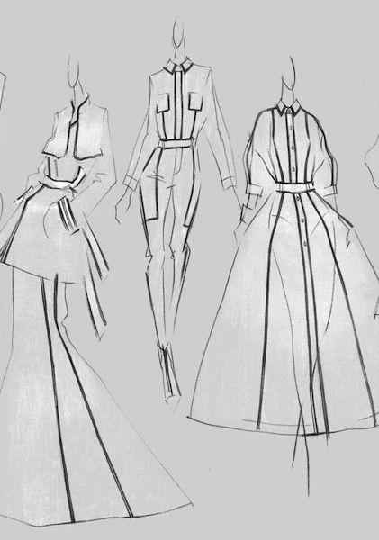 服装设计网 教程 时装画/手绘技巧        来芮:多元摩登      la