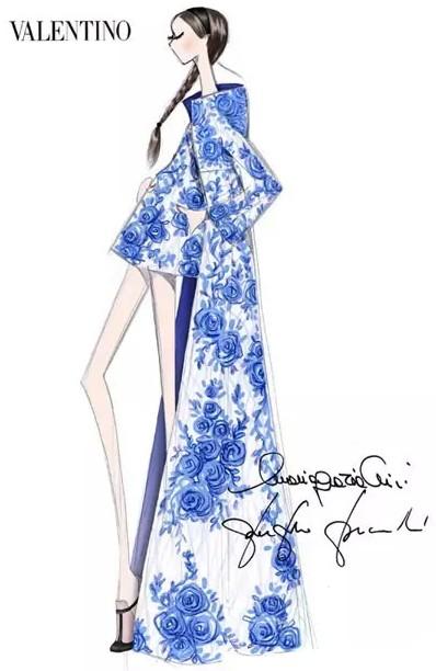 时装大师的绝妙服装手稿图-服装设计管理-服装设计网