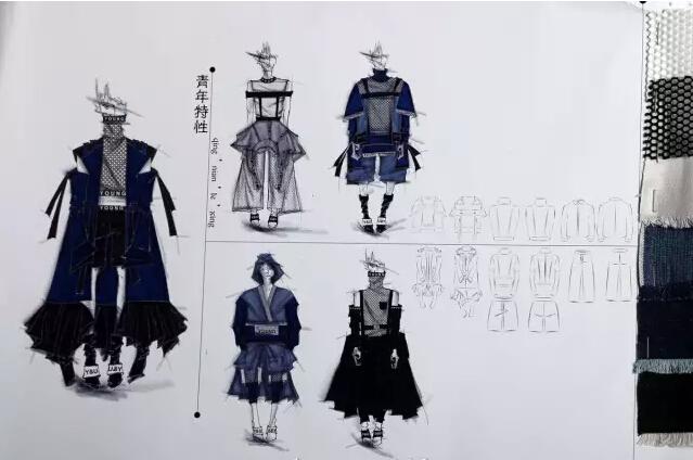 服装设计网 服装设计大赛 真维斯设计大赛     选手们正在阐述