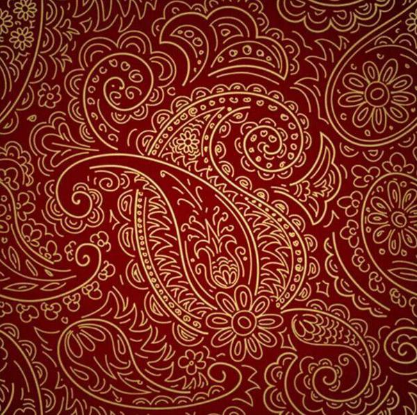 最受欢迎的是深红色这款花纹,不管是裙子还是