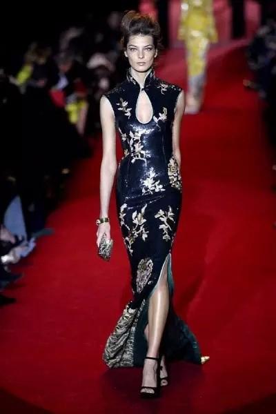 旗袍也是设计师灵感的来源之一