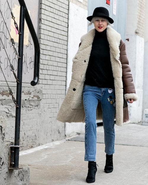 换季最强搭配法则:高跟短靴+九分牛仔裤+外套-服装