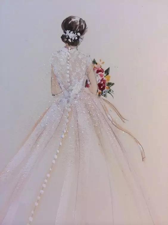 婚纱礼服效果图该怎么画?-时装画/手绘技巧-服装设计教程-服装设计网