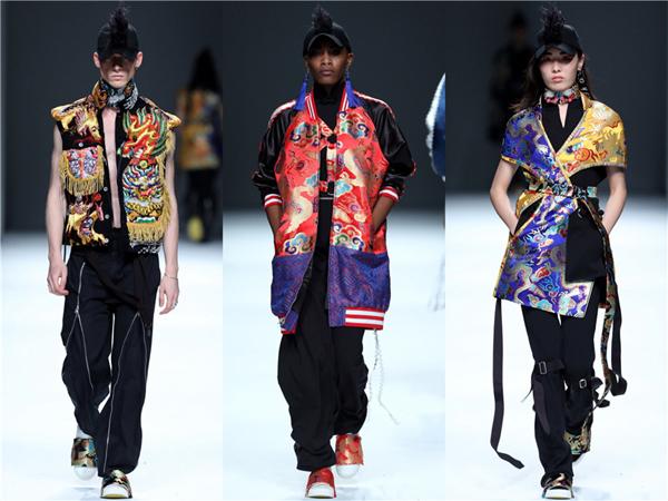 直擊上海時裝周:看本土設計師如何演繹中國風?-服裝周