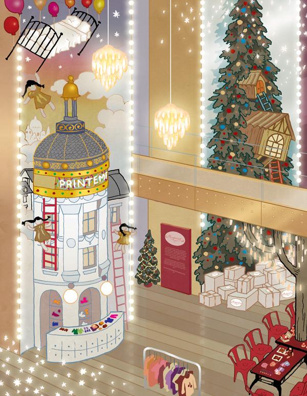 法国春天百货圣诞橱窗闪亮揭幕| 奇幻冒险