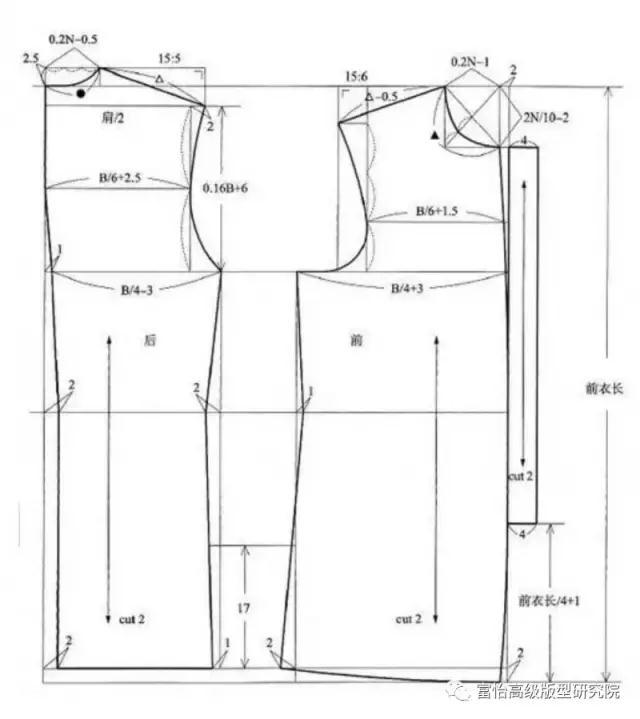 新唐装设计纸样资料-服装设计-服装设计教程-服装