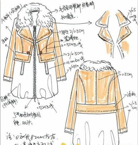 服装排版技巧_真正的女装设计手稿,你见过吗?-时装画/手绘技巧-服装设计 ...