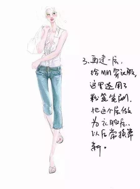 服装设计电脑手绘时装画绘画快速技法21 作者:阳阳 帖子ID:2800