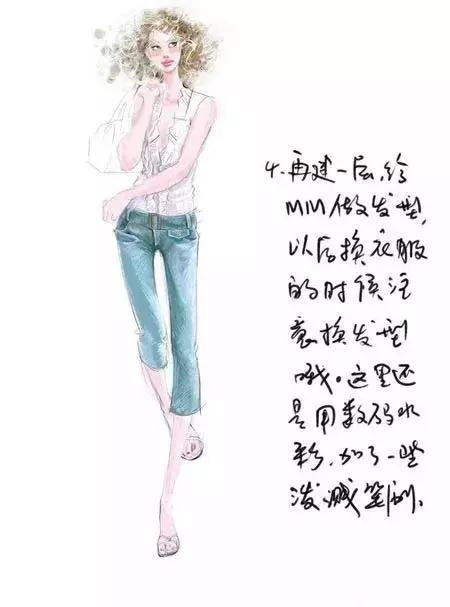 服装设计电脑手绘时装画绘画快速技法36 作者:阳阳 帖子ID:2800