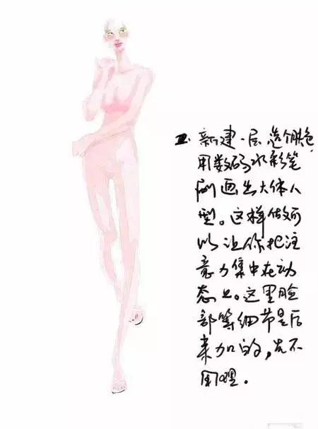 服装设计电脑手绘时装画绘画快速技法1 作者:阳阳 帖子ID:2800