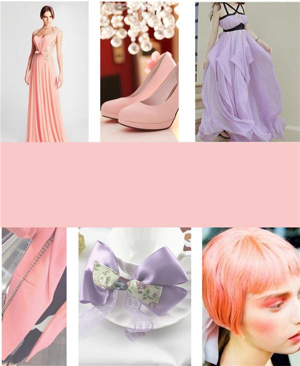 2018春夏女装流行色彩预测