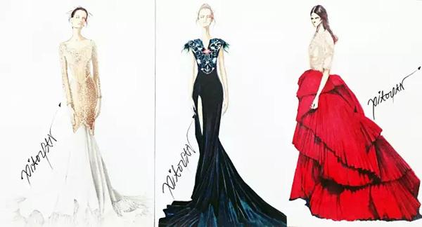 服装设计网 教程 时装画/手绘技巧     如何在纸上大胆的绘画是成为