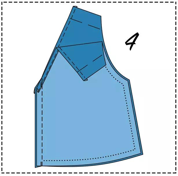 图解时尚女士连体裤的详细制作