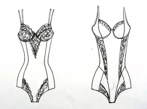 内衣设计基础 | 文胸的分类和造型设计-服装设计-服装