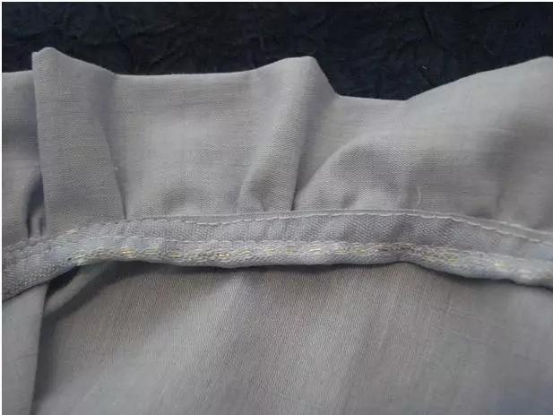 带褶边衣领的制作教程-服装工艺-服装设计教程-服装网