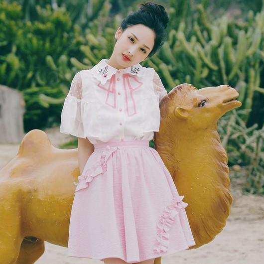 衫上绣花,让美丽升级-服装潮流搭配-服装设计网