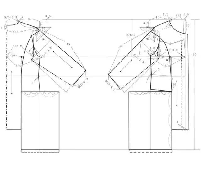 宝宝大裆裤裁剪设计图