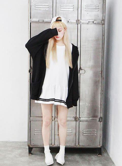 黑白灰搭配最高级—时尚黑白穿搭术