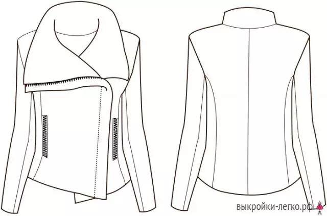 夹克衫怎么画简笔画