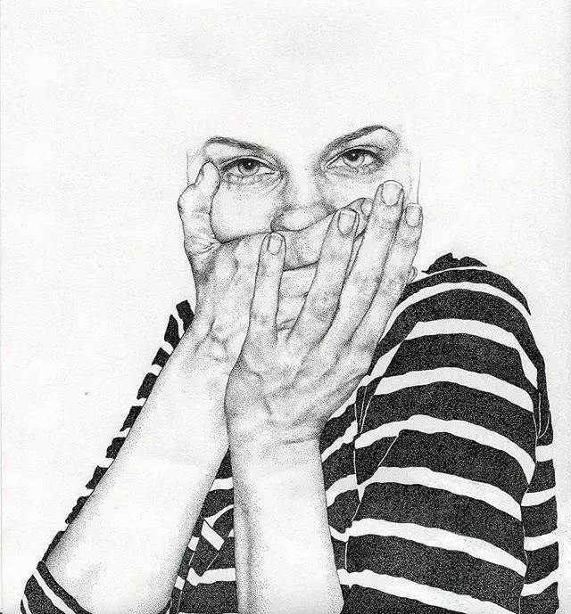 再一次见识针管笔手绘的厉害,我要竖起大拇指!