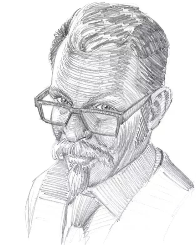 人物肖像的素描关键画法图片