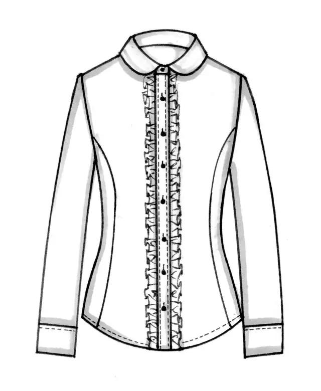 服装设计网 教程 时装画/手绘技巧     在画上装服装平面款式图之前