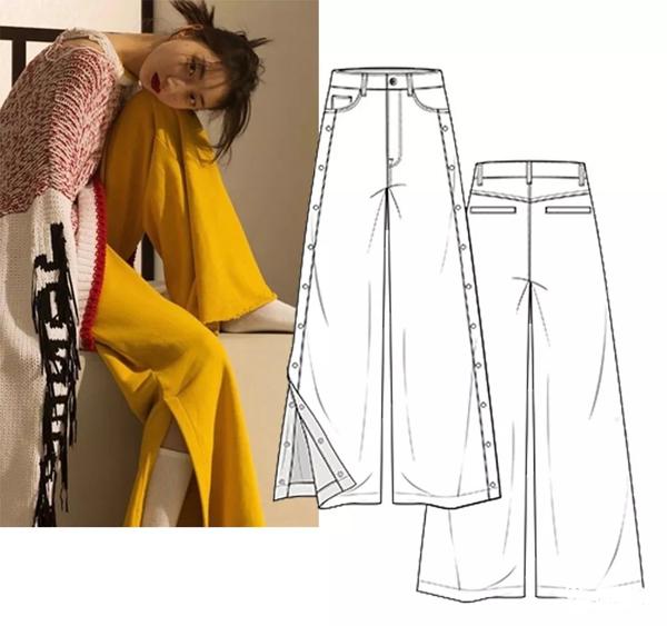2019春夏女装丹宁款式 装饰流行趋势