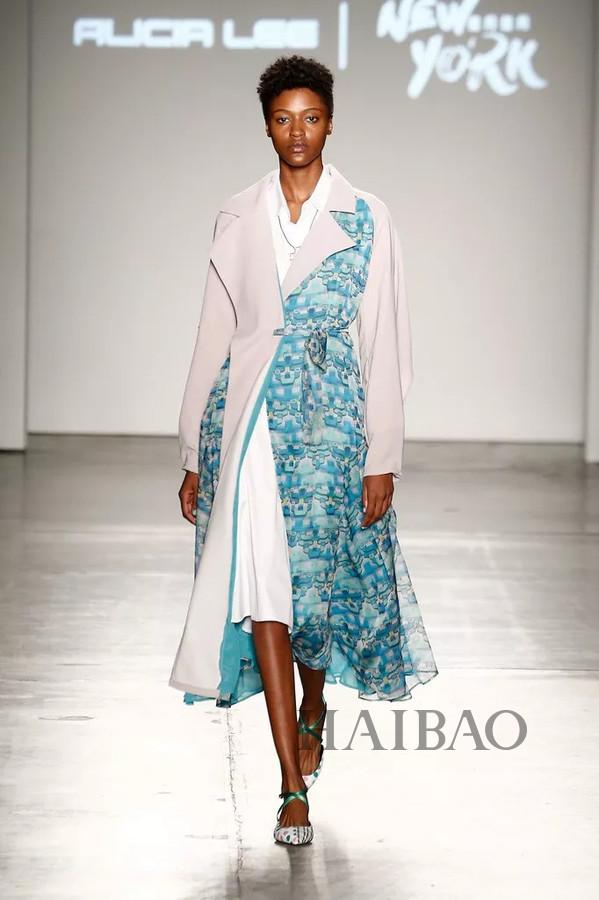 纽约时装周ALICIA LEE 2019春夏时装秀