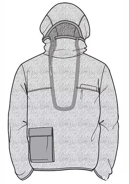 行业资讯_男士夹克、卫衣、西服的款式图合集-制版技术-服装设计教程-CFW ...