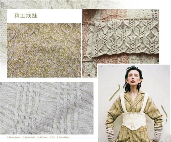 2019/20秋冬女士针织流行