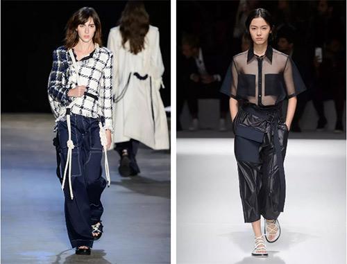單品趨勢:2019/20秋冬女褲流行趨勢圖片