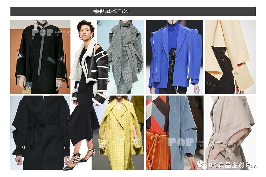 2019年秋冬女装裁剪细节趋势预测――袖部细节(图9)