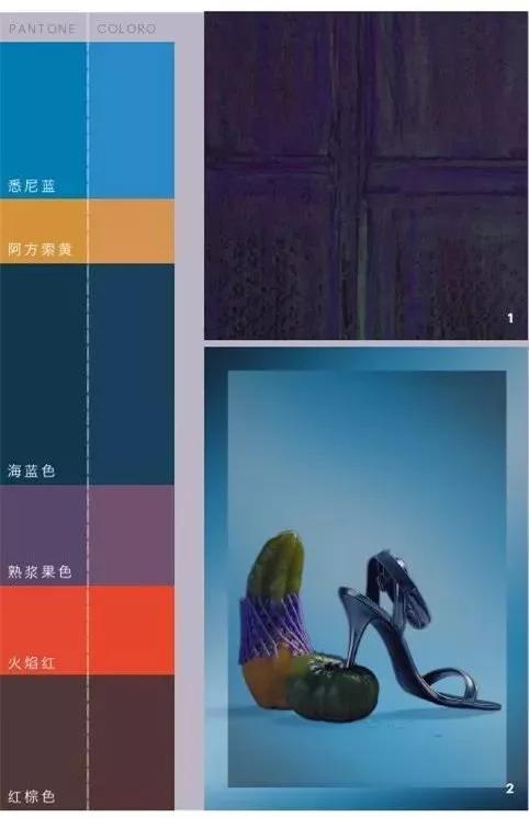 2019/20秋冬女装色彩趋势 成熟华丽 彰显夸张的盛装感(图7)