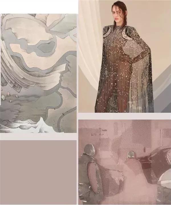 2019/20秋冬女装色彩趋势 成熟华丽 彰显夸张的盛装感(图11)