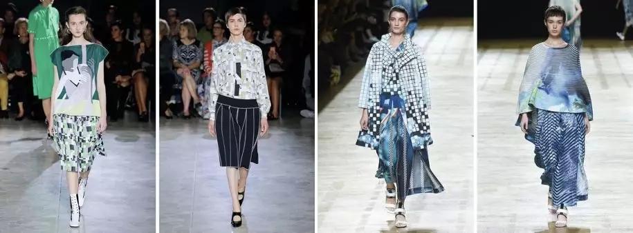 2019服装流行款式_2019春夏女装流行趋势 色彩和图案分析-服装趋势预测