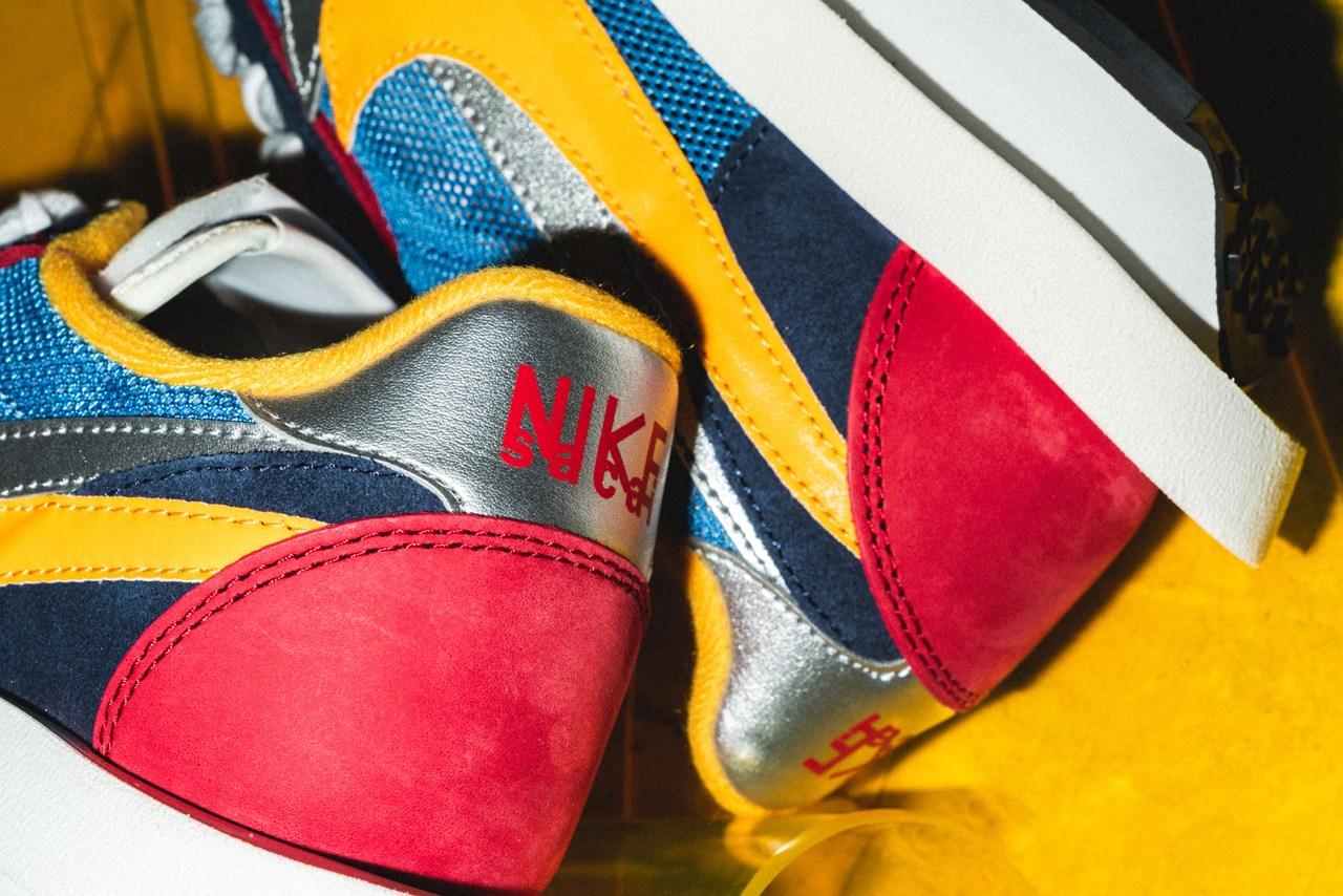 sacai x nike细节全赏,这样的球鞋根本无法拒绝