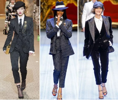 流行趋势丨2019年时尚商务女装西装的主要趋势(图10)