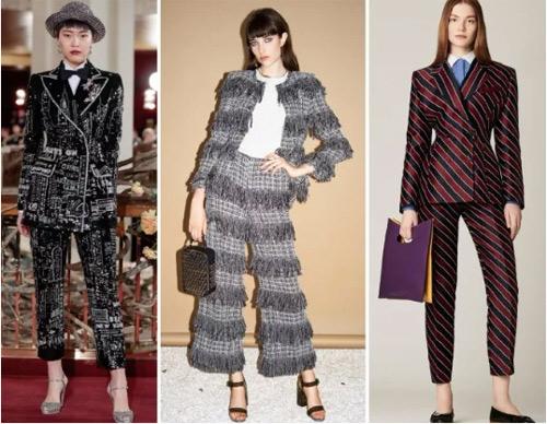 流行趋势丨2019年时尚商务女装西装的主要趋势(图16)