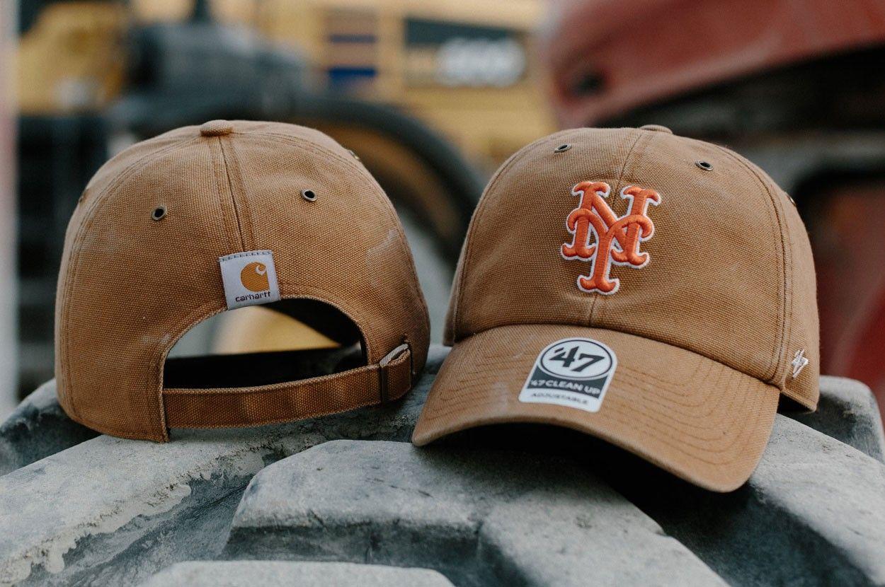 妫��叉���甯芥����娴�琛�瓒��匡�锛�Carhartt x 47 Brand MLB �ㄧ����绯诲���ヨ�锛�