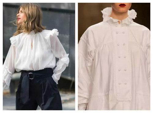 穿宫廷衬衫的女人 气质不会太差!(图30)