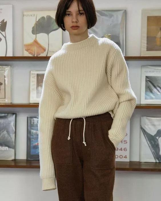 针织设计流行趋势 点复古螺纹,潮人最爱!(图10)
