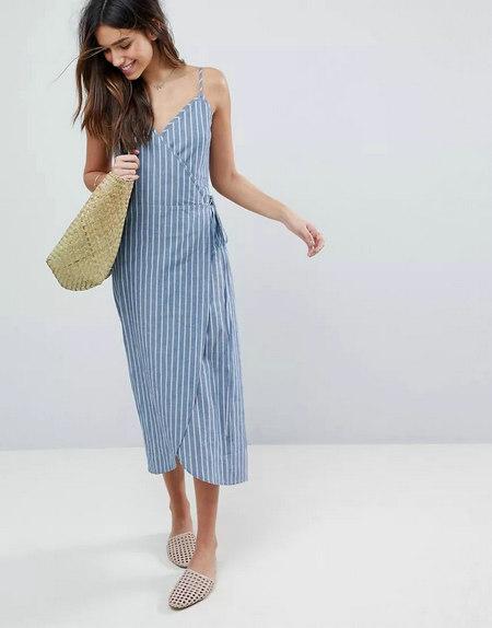 2019年春夏女装流行趋势 女装吊带裙(图7)